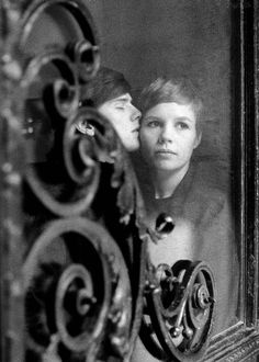 Stuart Sutcliffe and his fiancee Astrid Kirchherr in Hamburg, 1961. Stuart Sutcliffe was the bass player for the Beatles before dying in 1962.