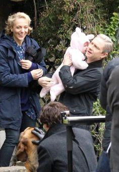 Series 4, Ep 1 main filming is completed! 5-8-16 THE KID!!! THE KID!!1 RED ALERT RED ALERT THE BABY IS BORN AND THERE IS A *DOG* A D*DOG* HELP I CAN'T