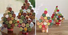 6 Ideas para esta Navidad con tapones de corcho