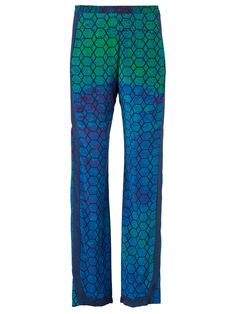 Silhouette Silk Pants by Daniel Silverstain, | muuse.com