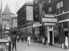 1926 Hawthorn st. Hotel Al Capones headquarters sept 26 shot up by Bugs Moran leading too Bugs death in the St Valentine's Day massacre
