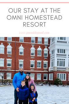 Feel really good about your stay at Omni Hotels & Resorts - and enjoy a winter wonderland getaway at The Omni Homestead Resort in Hot Springs, Virginia! Hotels And Resorts, Best Hotels, Hot Springs, East Coast, Winter Wonderland, Homesteading, Virginia, Spa Water
