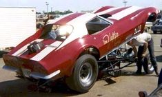 70s Funny Cars - Bob Harris and the Vette Shop