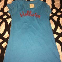 Hollister girls top Blue girls hollister top Hollister Tops Tees - Short Sleeve