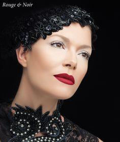 Rouge & Noir   Radiant Professional Make Up, Crown, Fashion, Moda, Corona, Fashion Styles, Makeup, Beauty Makeup, Fashion Illustrations