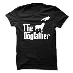 The DogFather Husky T Shirts, Hoodies. Check Price ==► https://www.sunfrog.com/Pets/The-DogFather-Husky.html?41382
