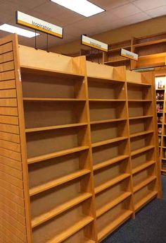 funny pics: empty shelves in bookstore: Inspiration