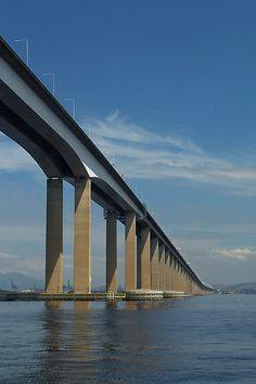 Ponte Rio-Niterói - Rio de Janeiro                                                                                                                                                                                 Mais