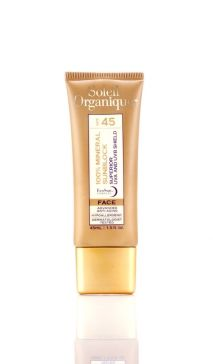 Soleil Organique 100% Mineral Suncreen for Face
