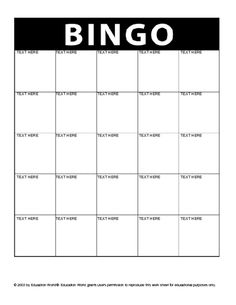 printable bingo cards bingo cards and bingo on pinterest