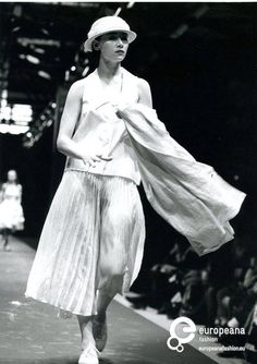 Archive picture of a fashion show at Pitti, Firenze, 19 - 21 of February 1988. Photo: Stefania Talini. Courtesy Pitti Immagine. All rights reserved.