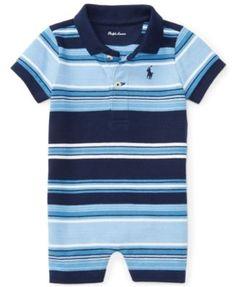 Ralph Lauren Striped Shortall, Baby Boys (0-24 months)   macys.com