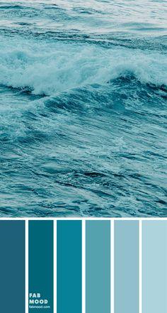 shades of green sea color palette, color scheme, c Color Schemes Colour Palettes, Pastel Colour Palette, Turquoise Color Palettes, Teal Paint Colors, Blush Color, Green Colour Palette, Blue Colour Palette, Sea Colour, Sea Green Color