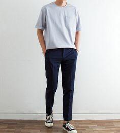 Mens Minimalist Fashion - My Minimalist Living Summer Outfits Men, Stylish Mens Outfits, Korean Fashion Men, Mens Fashion, Japanese Fashion Men, Japanese Minimalist Fashion, Japanese Outfits, Mode Streetwear, Mens Clothing Styles