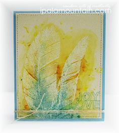 CASE Study Challenge #138 | Random Acts of Creativity beautiful card with embossing and watercolor