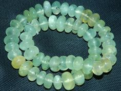 Natural Prehnite Smooth cut Plain Beads Rare extra Big size 6mm.to 14mm.Approx-Free Shipping | gemstonebeads - Jewelry S