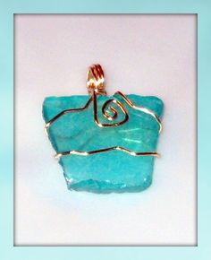 wrapped manufactured glass by Lache La Femme Jewelry and Gifts, Canton OH