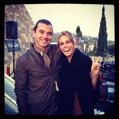Keltie and Gavin Rossdale from Bush. Ahh!! See more here: http://insdr.co/ILG5Zi