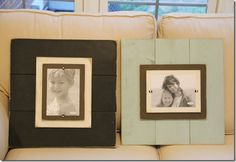 Love these frames - simple to DIY!