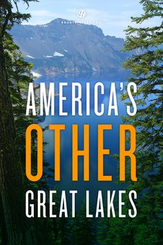 """Here's a shout-out to some seriously awesome lakes that are too low-key to be known as """"great."""""""