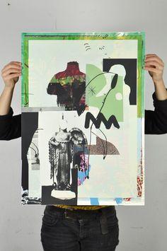 Image of Unikat 31 Collage Illustration, Graphic Illustration, Illustrations Posters, Graphic Design Posters, Graphic Design Inspiration, Graphic Art, Mises En Page Design Graphique, Art Graphique, Collages