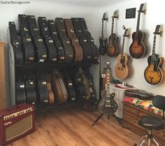This guy's got a wicked case of #Guitar Acquisition Syndrome fo' sho'!