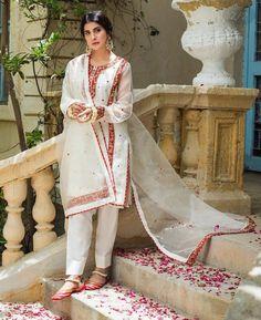 new stylish dress New Stylish Dress, Stylish Dresses, Fashion Dresses, Formal Dresses, Party Dresses, Women's Fashion, High Collar Blouse, Balochi Dress, Pakistani Outfits