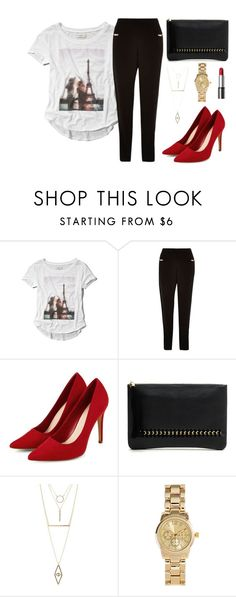 """Get the look for less. #3"" by ericakslzr on Polyvore featuring Abercrombie & Fitch, River Island, Charlotte Russe and H&M"