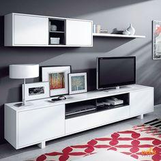 Las 18 mejores imágenes de muebles TV MODERNOS   Tv cabinets, Tv ...