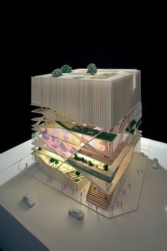 Gallery of Culture Forest / Unsangdong Architects - 5 Floresta Cultural / Architecture Cultural Architecture, Architecture Baroque, Architecture Design, Architecture Drawings, Concept Architecture, Architecture Diagrams, Sustainable Architecture, Network Architecture, Architecture Panel