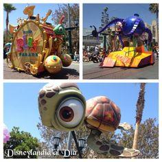 ¡El desfile de Pixar! - #Disneylandia al Día™ Disney California Adventure, Pixar, Disneyland, Parks, Pixar Characters