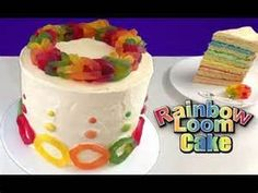 loom bands cake how to cook that