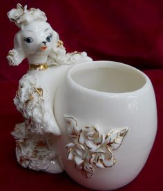 Lefton Spaghetti Poodle--I have this one, one of over 100 of them.