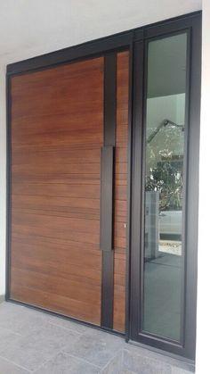Modern Main Door Design Wood Entrance 22 Ideas For 2019 Modern Entrance Door, Main Entrance Door Design, Modern Front Door, Front Door Entrance, Door Entryway, House Front Door, Front Door Design, House Entrance, Front Entry
