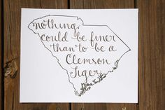 One of my new favorite prints! I love it when the phrase fills the state perfectly