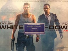 Jilly Ballistic strikes again. This time perfectly nailing a subway poster for White House Down . | Subway Posters Smartly Adbusted