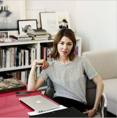 """Sophia Coppola. """"That's the way I work: I try to imagine what I would like to see"""""""