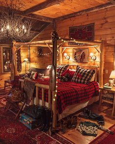 Amazing 50 Incredible Rustic Bedroom Designs For This Winter https://homegardenmagz.com/50-incredible-rustic-bedroom-designs-for-this-winter/