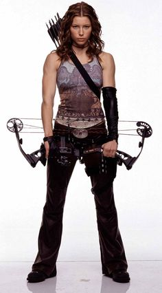 Abigail Whistler /actress Jessica Beil. From the movie, Blade: Trinity.
