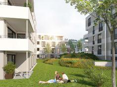 Eigentumswohnungen mit Fußbodenheizung und Parkettböden. Ein Projekt von Wüstenrot.