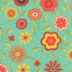 Block Party - Sandy Gervais - Floral - Fabric Please!
