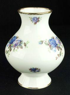 Royal Albert Moonlight Rose 12cm Vase VGC