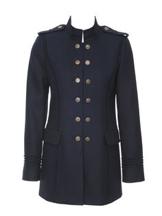 Military Jacket on Women Jackets Womens Military Style Jacket ...