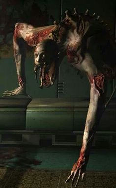 this is your nightmare. Seriously creepy stuff to be had and shared on the… Arte Horror, Horror Art, Horror Movies, Creepy Art, Scary, Creepy Stuff, Creepy Things, Zombies, Art Zombie
