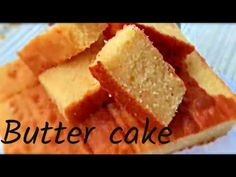 This butter cake is super moist and very easy to make . Kids will love it and perfect for tea party . Ingredients Flour – 1 cups Butter – 250 grams Eggs – 5 Baking powder – 1 teaspoon Salt – tspn Vanilla essence – 1 teaspoon Milk – 50 ml Sugar – … No Cook Desserts, Delicious Desserts, Cake Mix Recipes, Dessert Recipes, Pie Recipes, Easy Butter Cake Recipe, Cupcake Cakes, Cupcakes, Cake Cookies