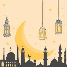 Islamic Wallpaper Iphone, Wallpaper Wa, Cartoon Wallpaper, Background Pictures, Background Patterns, Poster Ramadhan, Wallpaper Ramadhan, Eid Mubarak Wallpaper, Ramadan Poster