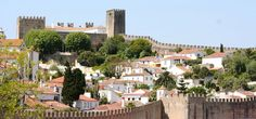 Óbidos, a medieval village inside fortified walls with its own castle.