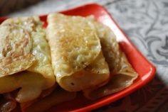 Patishapta (Bengali rice pancakes with sweet filling)