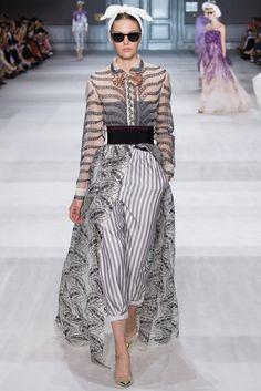 Giambattista Valli Fall 2014 Couture Fashion Show - Marta Placzek (NEXT)