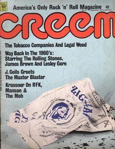 Creem Magazine September 1972